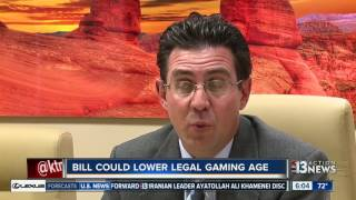 Bill Could Lower Nevada Gambling Age