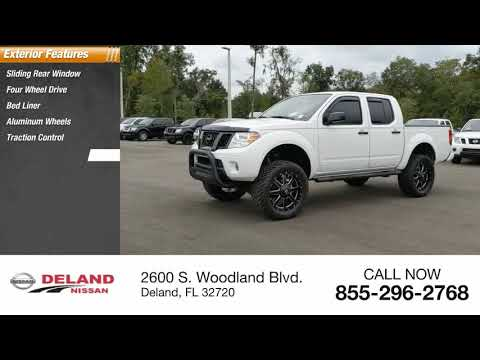 2019 Nissan Frontier DeLand Nissan N531600A