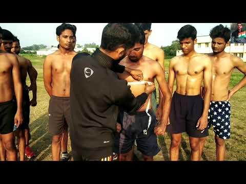 Indian Army Chest Measurements | 80CM-90CM कैसे फुलाएं