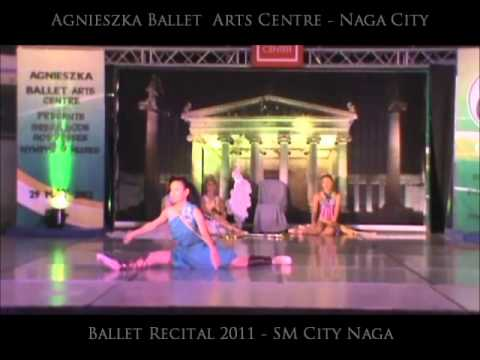 Agnieszka Ballet - 2012 Summer Ballet Recital - Greek goddesses