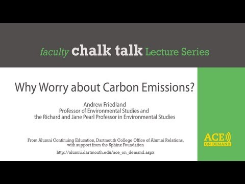 Why Worry about Carbon Emissions?