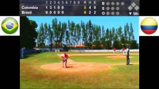 XIII Sul Americano Beisebol 2015 - FINAL - Brasil x Colômbia