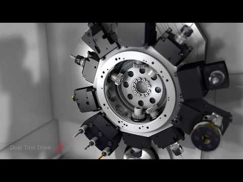 Traub TNL 32-9 turn-mill centre – fast, flexible machining in a small space