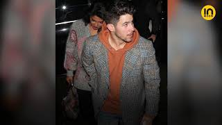 PRIYANKA CHOPRA AND NICK JONAS ARE 'MR AND MRS GREY' AS THEY STEP OUT FOR DINNER IN LONDON
