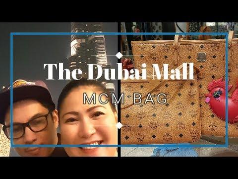 The Dubai Mall Mini Tour & MCM Bag