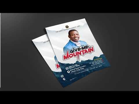 Church Flyer design with coreldraw