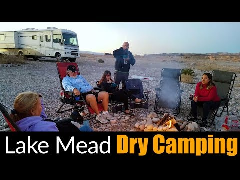 Motorhome RV Living | Picking Up RV Essentials, Lake Mead Recreation Area Dry Camping