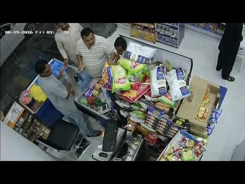 Thief in Al khobar, saudi arabia - trick cashier and fraud him 500 riyal