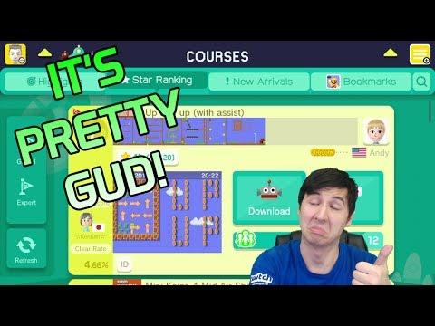 Not bad, eh!? - Super Mario Maker