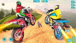 Off Road Real Bike Racing Games 3D #Android Gameplay #Bike Games To Play