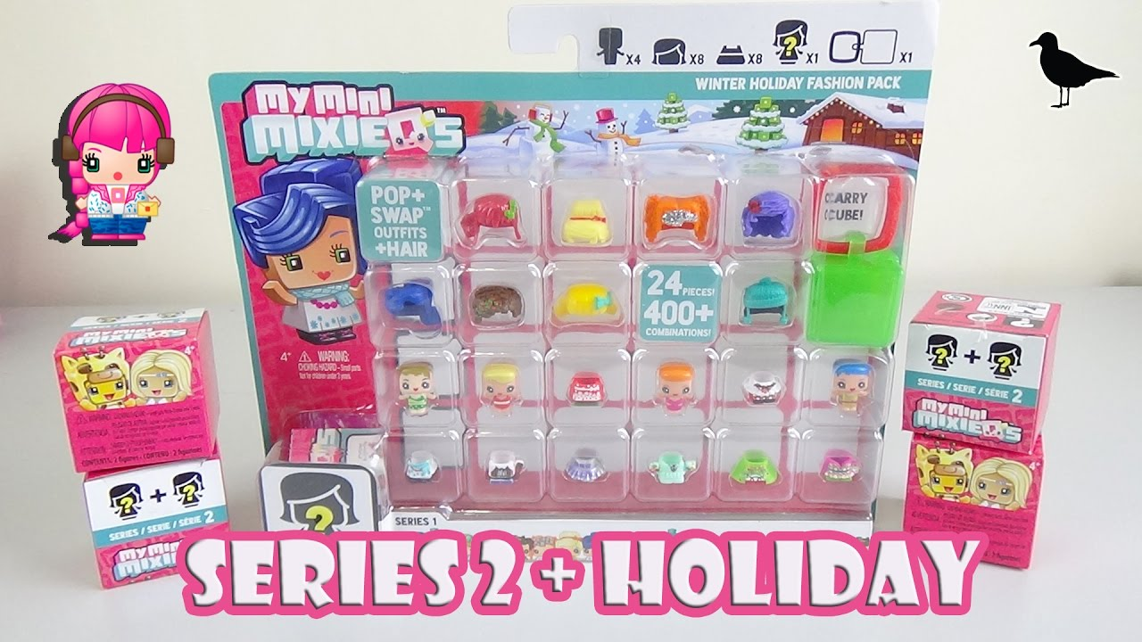 My Mini Mixie Q s Series 2 Blind Box Opening & Winter Holiday