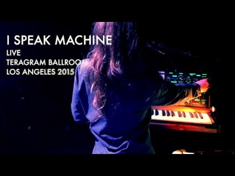 I SPEAK MACHINE - The Demon and The Dove (Live 2015)