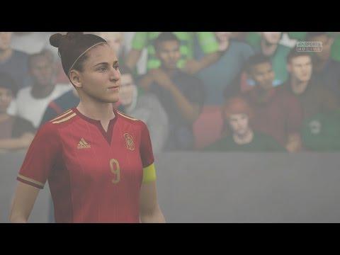 EA SPORTS FIFA 16 - Mexico v Spain (Womens) (FOG) Gameplay [1080p 60FPS HD]