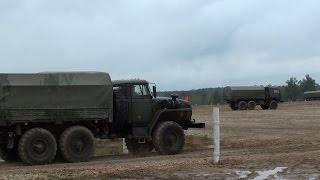грузовики Урал и КамАЗ (МВТФ АРМИЯ-2016)