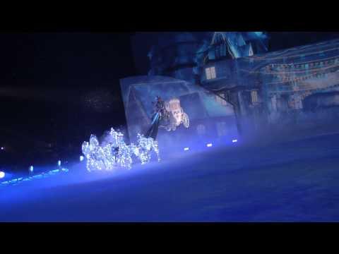 Снежный Король в карете и Кай.Евгений Плющенко и Джонни Вейр. 13.12.14 шоу Снежный Король