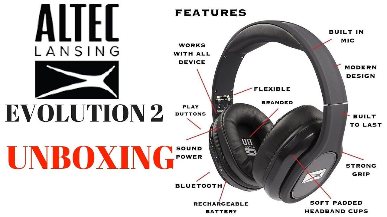 f483ca52147 Altec Lansing Evolution 2 review MZX667 bluetooth wireless headphones  unboxing vs Beats Audio, JBL