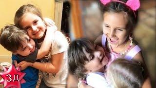 Дети Пугачевой и Галкина: Лиза и Гарри встречают Клаву Земцову! Август 2017