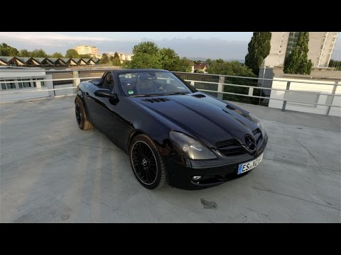 mercedes benz slk 200 kompressor r171 amg package black. Black Bedroom Furniture Sets. Home Design Ideas