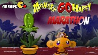 Monkey Go Happy Marathon Walkthrough All Levels HD