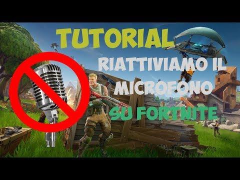 Il microfono o le cuffie non funzionano con Fortnite ...