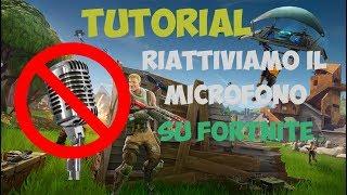 Fortnite-Comment réparer le microphone Bug
