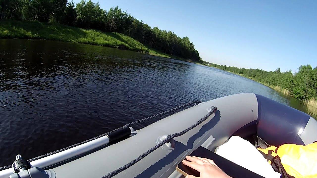 Флагман 380. Первый выход на воду.
