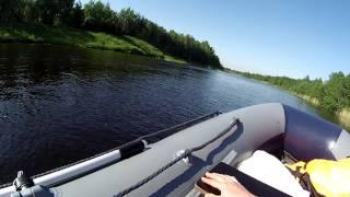флагман 380. Первый выход на воду