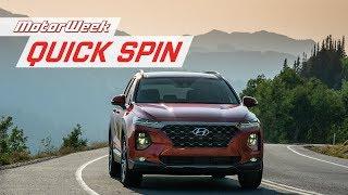 2019 Hyundai Santa Fe | Quick Spin