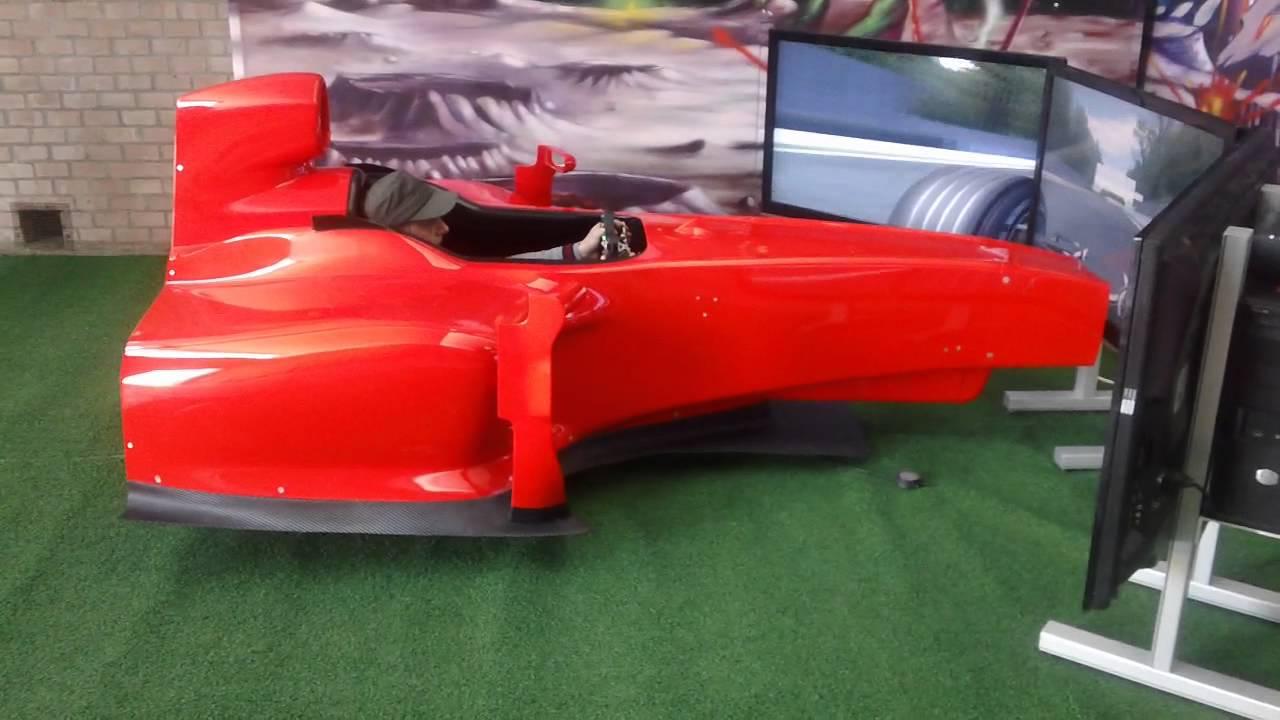 F1 Simulator Cockpit Drs 12 D Box Motion System Dem Racing