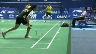 2011 li ning china masters badminton wd final xia huan jinhua tang vs xiaoli wang yang yu
