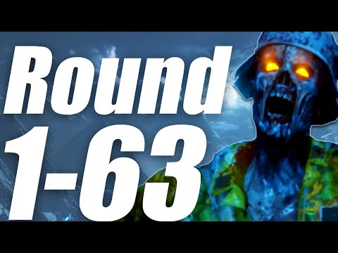 Der Eisendrache: Round 100 Run - 1-63 Flawless! (Call of Duty: Black Ops 3 Zombies)