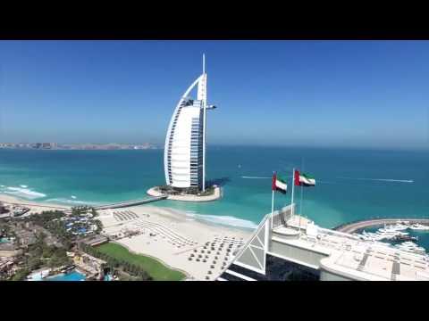 Dubai City 4k Drone Footage