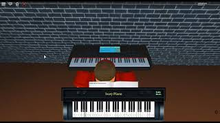 The River Flows in You - First Love by: Yiruma on a ROBLOX piano. [I'm going to stop now.]