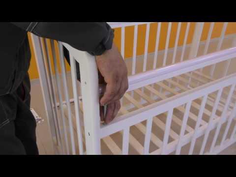 Инструкция по сборке детской кроватки Мой малыш 8