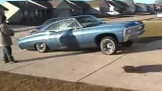67 impala on air bags 2003