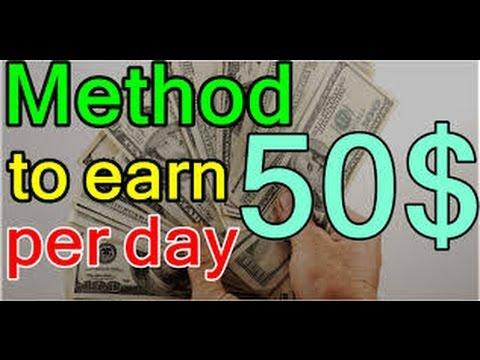 How to earn 1$ Dollar per click and 50$ per day by adds