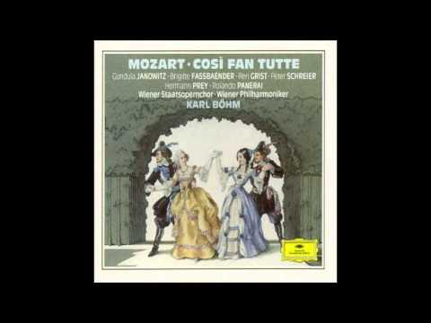 Mozart, 'Così fan tutte', Act 1, Scene 1, Terzetto & Recitativo