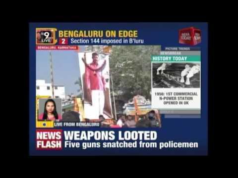 Sec 144 Imposed As Bandh Called In Shivajinagar