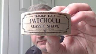 Review - Soap Era / Patchouli Classic Shave & Shampoo Bar