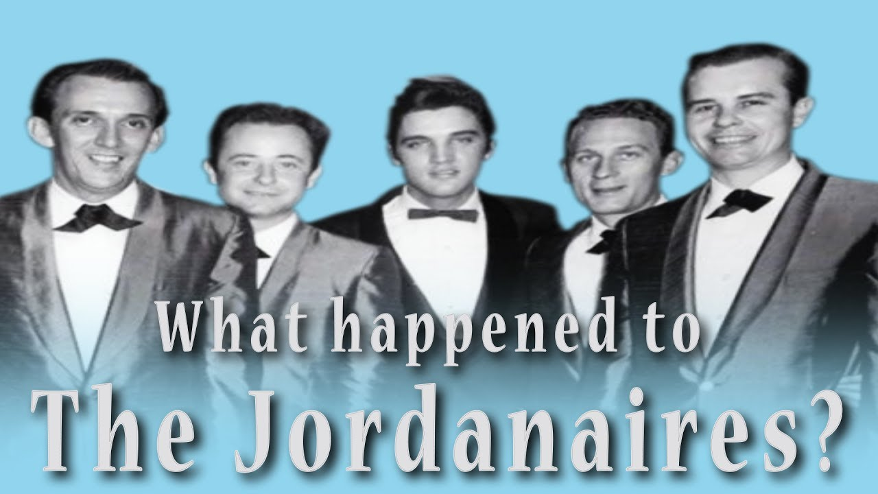 What happened to THE JORDANAIRES? ( Elvis' backup singers ) - YouTube