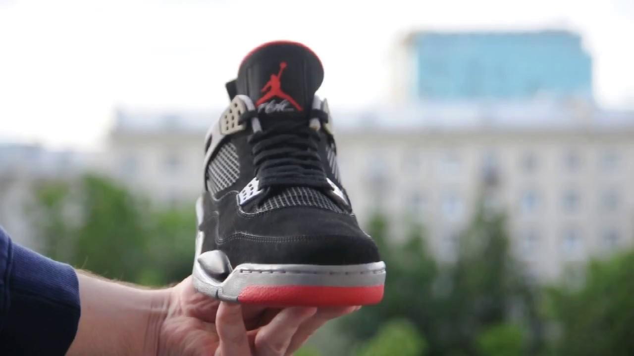 901b9bab2ededf 2008 Air Jordan 4 (IV) Retro   Black   Red   (Bred) CDP Countdown Pack