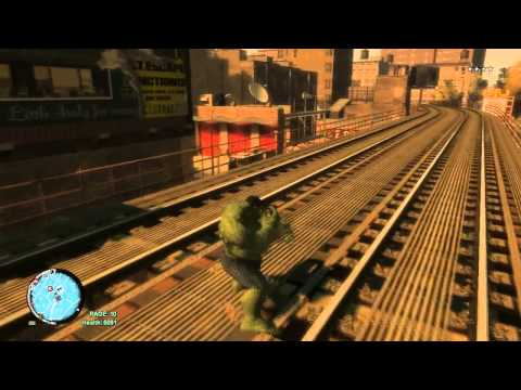 Hulk Plays GTA IV