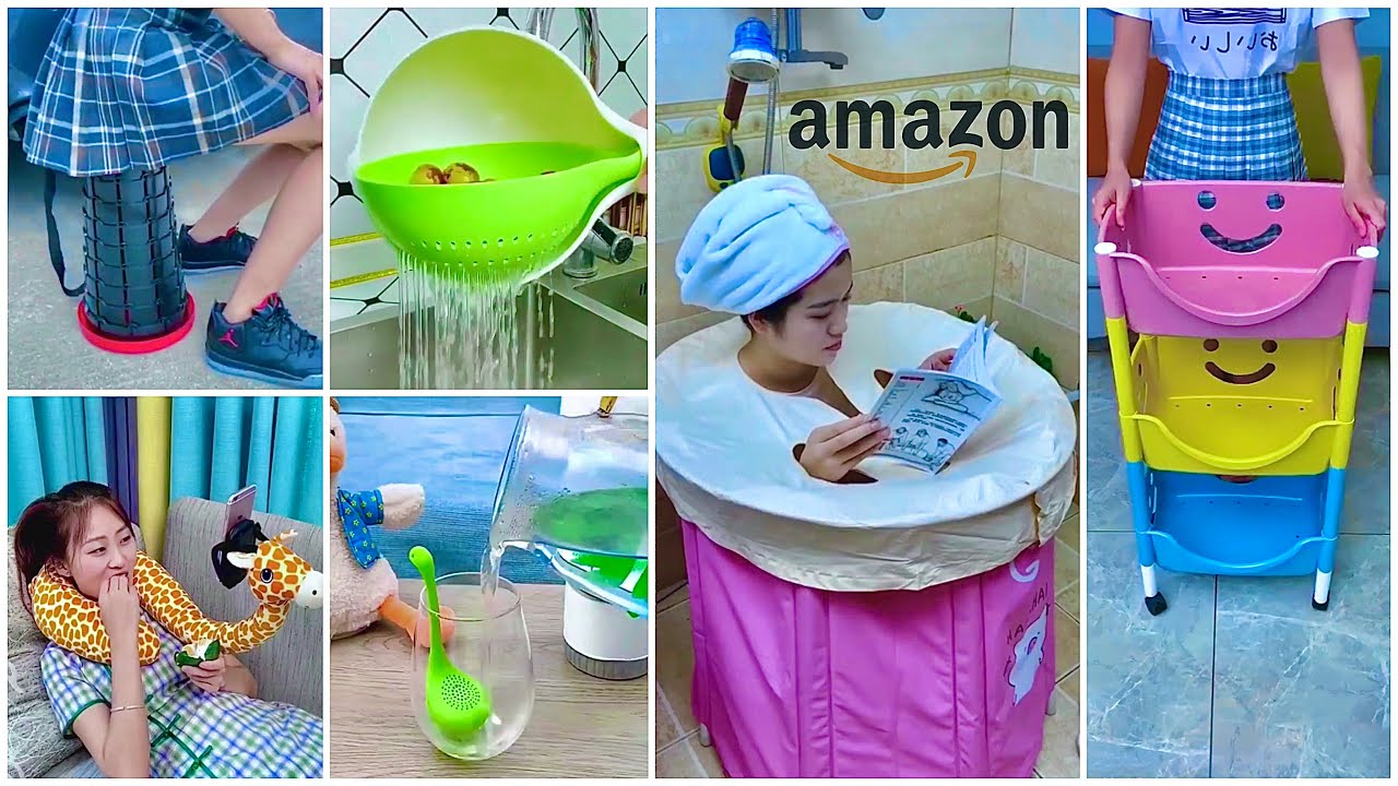 Amazon Must Buy Kitchen Items/Home Utilities/Kitchen Organisers/Spacesaving Items/Pantry/Decor items