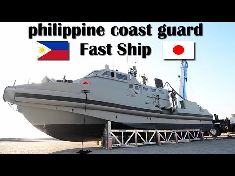 Fast Ship Yamaha High Speed ​​Boat 1202 for philippine coast guard from Japan