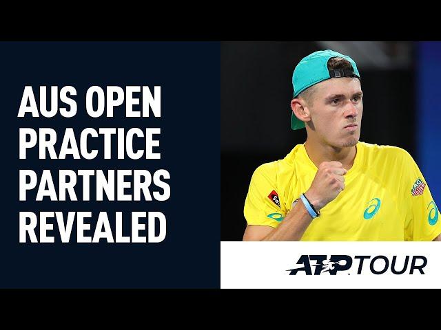 2021 Australian Open Practice Partners