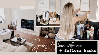 FULL HOUSE SPRING CLEAN | TOP TIPS & ZOFLORA HACKS