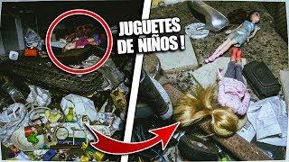 Visitando CASA ABANDONADA INTACTA con JUGUETES ! - Exploracion Urbana Lugares Abandonados en España