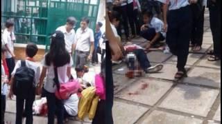 Nữ sinh lớp 8 mang theo dao lên trường để đâm bạn nữ cùng lớp vì ghen tuông