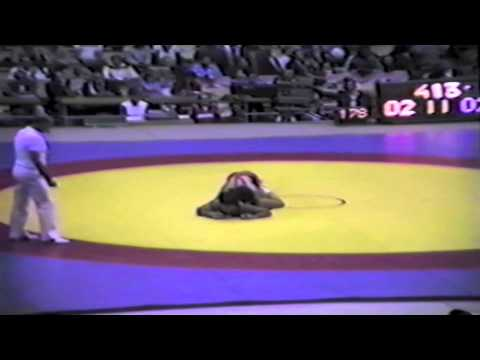 1983 Senior World Championships: 74 kg Claudiu Tamaduianu (ROU) vs. Ken Bradford (CAN)