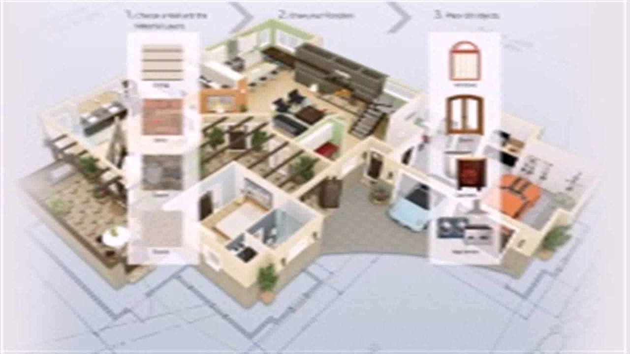 Floor plan 3d software free download youtube for 3d floor plan free
